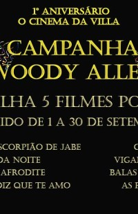 CAMPANHA WOODY ALLEN NA NOSSA LOJA DE DVD'S